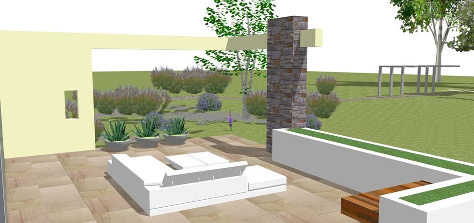contemporary landscape design chester