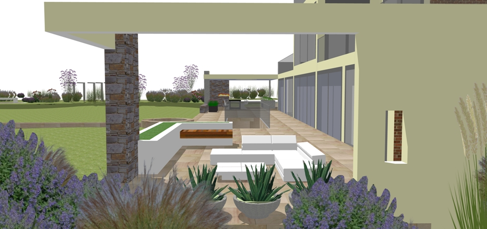 modern landscape design chester