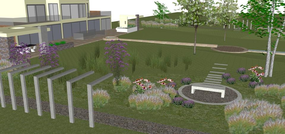modern landscaping chester